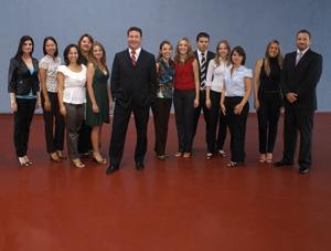 Equipe da Gerência Regional PR1, em Curitiba