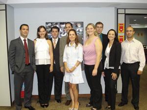 Equipe da Gerência Regional SC, em Florianópolis
