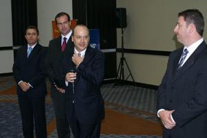 José Carlos Abreu fez a apresentação da nova empresa em Curitiba