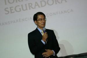O Presidente da Tokio Marine prestigiou o evento em Porto Alegre