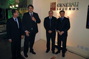 Marco André Carvalho, Rafael Alquati, Celso Marini e Federico Baroglio