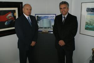 Claudir Couto e Rivaldo Leite: crescimento no RS