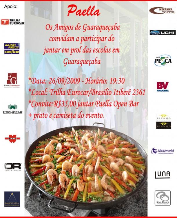 Convite Jantar Beneficente