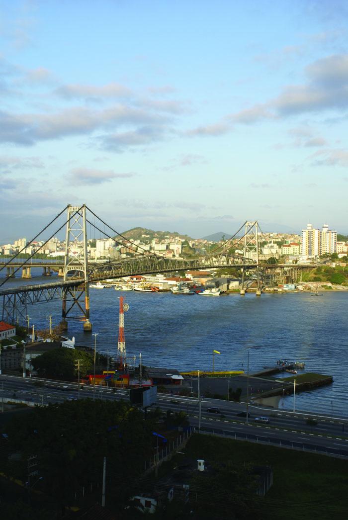 Florianópolis - Ponte Hercílio Luz