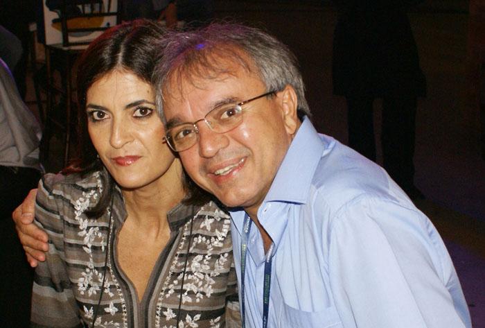 Dorival Souza e esposa