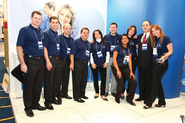 A equipe da Zurich  marcou presença na XV Exposeg