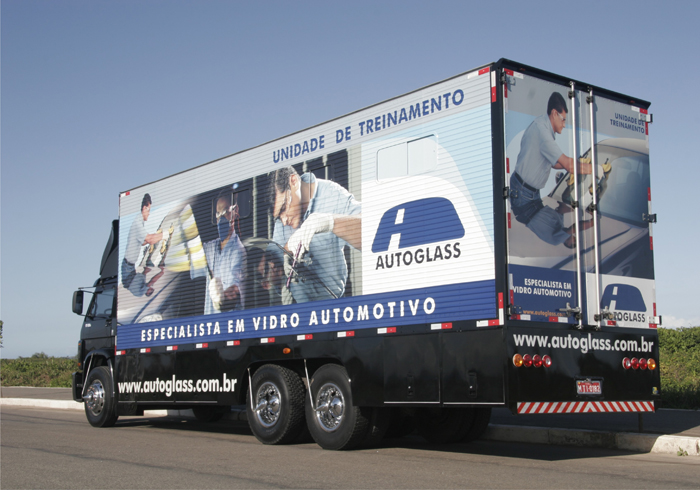 Caminhão Autoglass - CTA