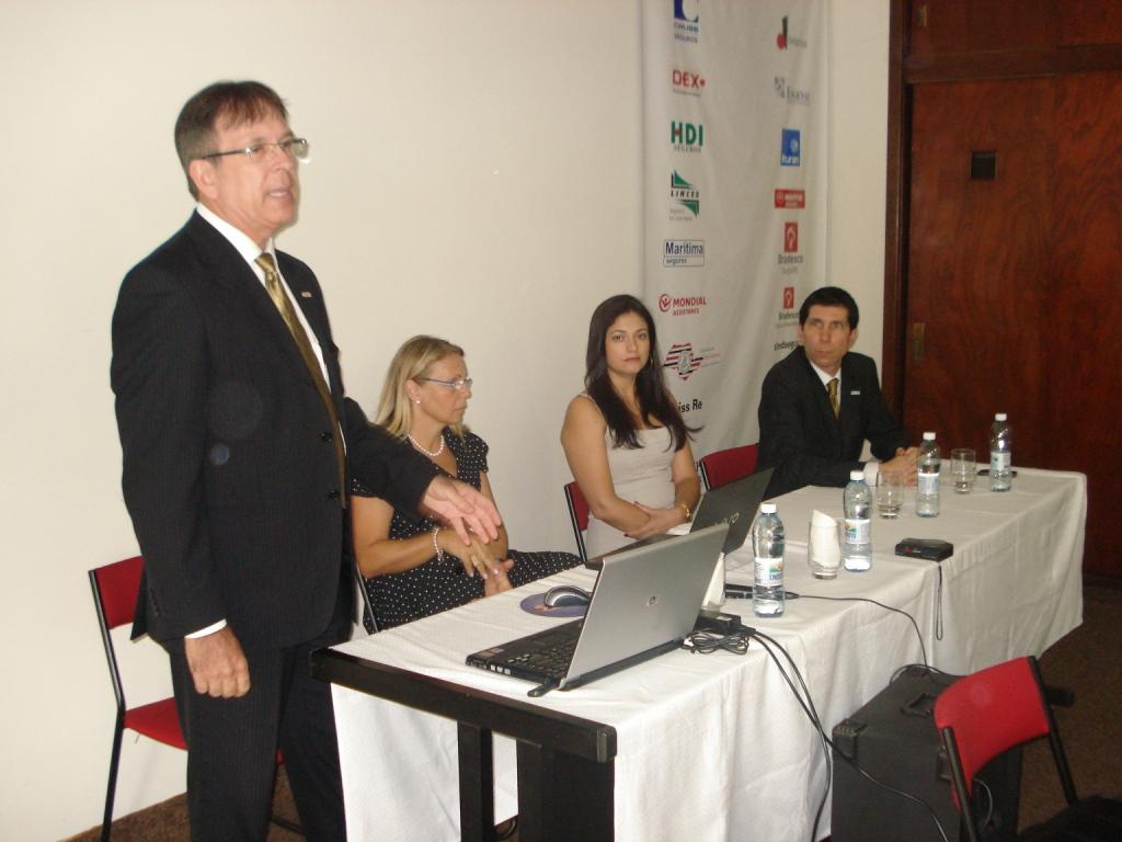 (E/D) Sérgio Monaco, Vera Lucia Bejatto, Daiane Maciel e Maurício da Silva Lopes