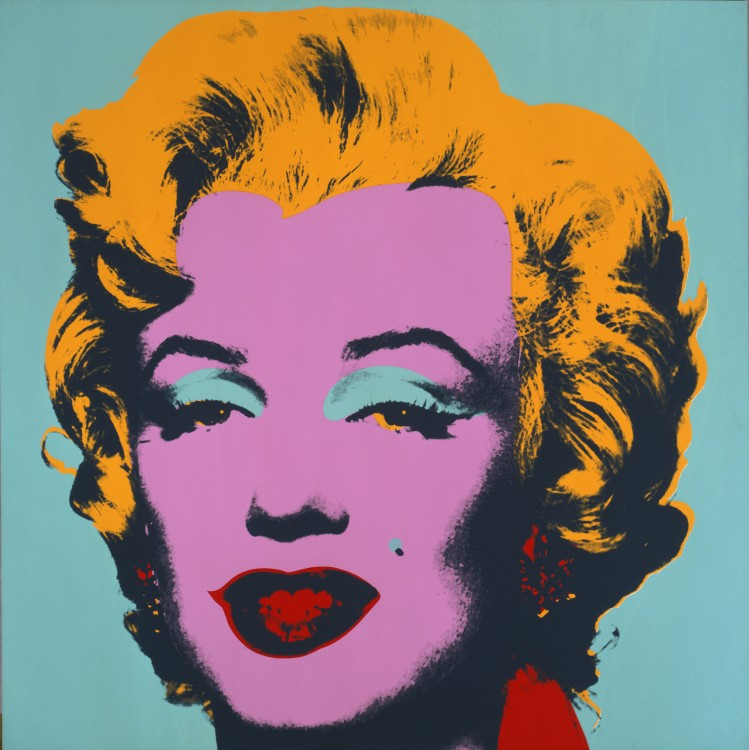 Foto: Marilyn Monroe, 1967 © The Andy Warhol Foundation for the Visual Arts, Inc.AUTVIS, Brasil, 2010