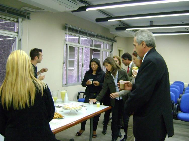 Em Curitiba, o evento aconteceu no SindSeg/PR/MS