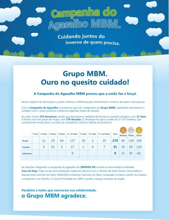 MBM - Campanha do Agasalho