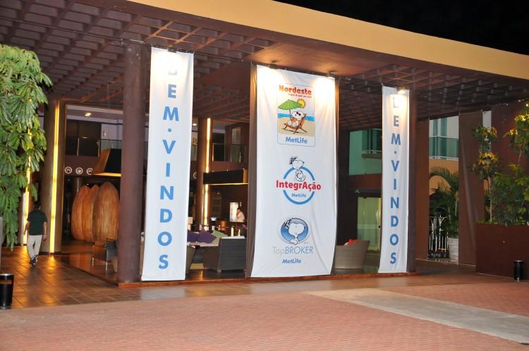 Imagens do Resort em Porto de Galinhas - Evento IntegrAção MetLife.