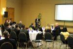 A palestra de Ismar Tôrres reuniu cerca de 50 pessoas, entre seguradores, corretores e advogados